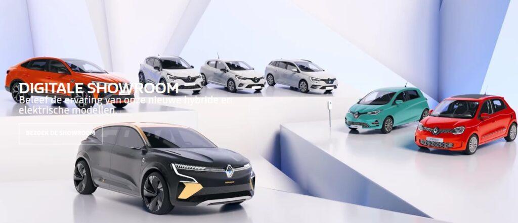Digitale showroom Renault